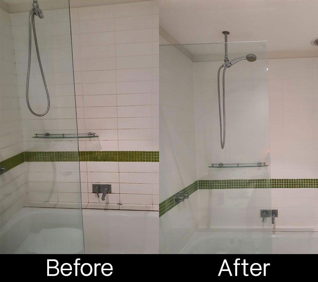Leaky shower repair